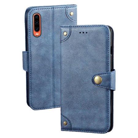 华为HuaweiP30手机皮套亚马逊热销创意新款多功能翻盖式钱包手机保护套