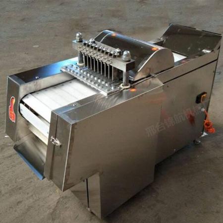 大型全自动切鸡块机 新型多功能剁切鸡块机