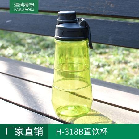 厂家直销 H-318B户外运动水杯 大容量运动水壶 便携太空杯 不含BPA