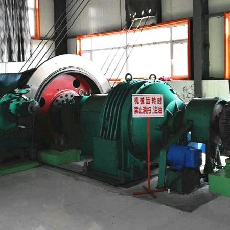 鹤壁星光矿机3米多绳摩擦绞车矿山提升设备JKMD-3-4