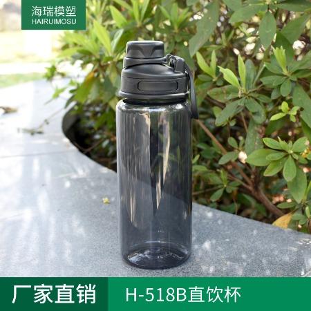 H-518B户外运动水杯 TRITAN环保水壶 塑料直饮杯大容量 批发