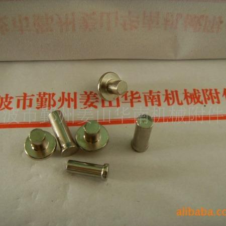 【厂家直销】供应双头/平头/带阶碳钢镀镍铆钉【价格优惠】
