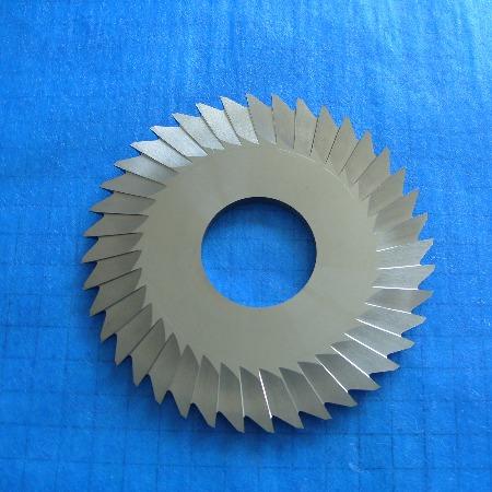 焊接合金单双角铣刀
