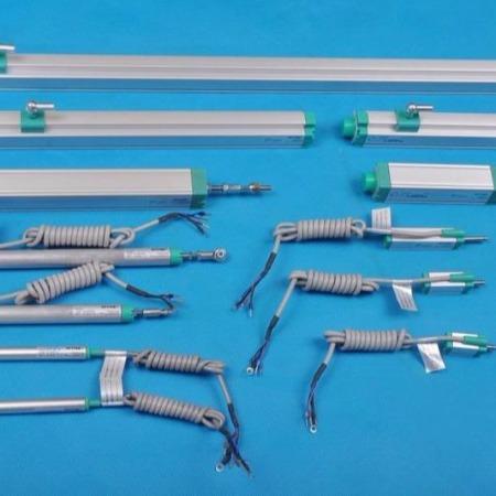 ETME易测直线位移传感器KTC-100mm系列拉杆式电子尺高精度直线位移传感器安装