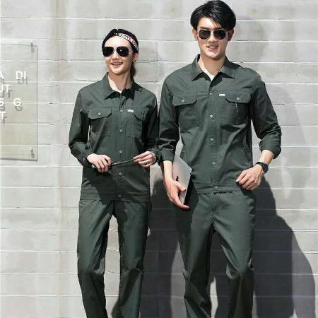 睿博服装服饰,夏季工作服,全棉,短袖长袖同款