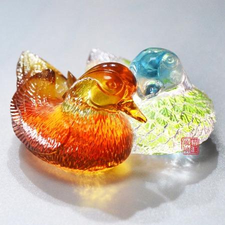 广州琉璃礼品定做 琉璃婚庆礼品礼物 结婚伴手礼礼品 集体结婚礼品礼物 广州琉璃工艺品厂家