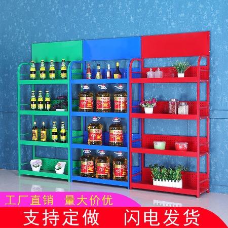 荣威货架 超市小货架 小货架 便利店展示架 小超市货架 精品展示架  粮油展示架 大米展示架专业定做