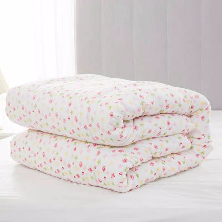 纯手工棉花被子160x210春秋被子1.6x2.1空调被夏被200x230薄被芯 15斤 手工棉被
