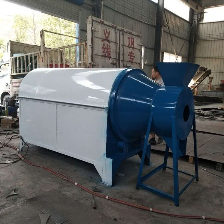 电加热炒货机 高效果渣豆渣烘干机 酒糟鸡粪滚筒干燥机厂家