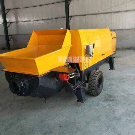 小型混凝土输送泵二次构造柱泵上料机水泥砂浆混泥土输送地泵