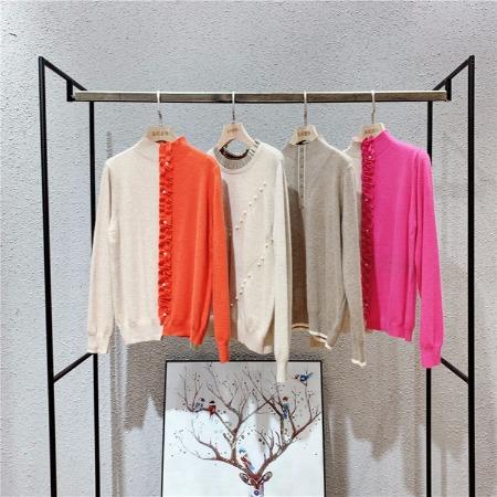 世界毛衣之一【安哥拉】羊绒毛衣糖果色系列大码女装一手货源批发