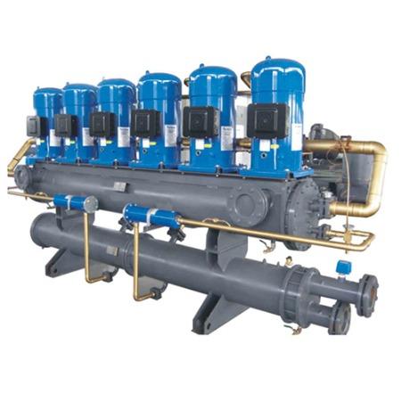 地源热泵热水机|满液式地源热泵机组|商场专用水地源热泵系统|恒鑫新能源