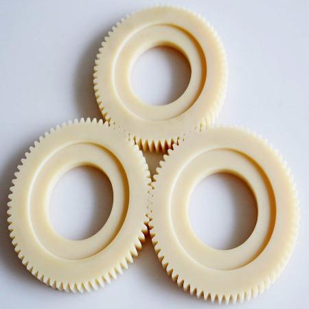 厂家加工定做非标 尼龙齿轮 内齿轮 齿条加工