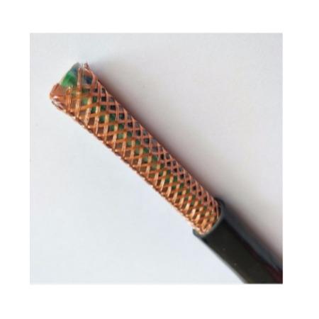 RVVP多芯屏蔽线3*1.5平方铜丝编织屏蔽电缆