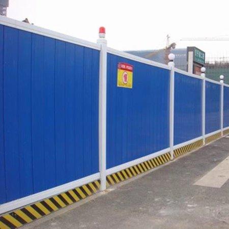 凯驰  城市道路施工档板 pvc施工围挡 市政建筑工程安全报价