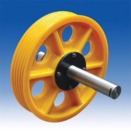 厂家直销数控钢筋弯箍机配件 弯箍机用尼龙导向轮  现货
