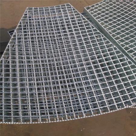 双美厂家 现货批发 道路重型井盖板 热镀锌钢格栅 可定制异形钢格板