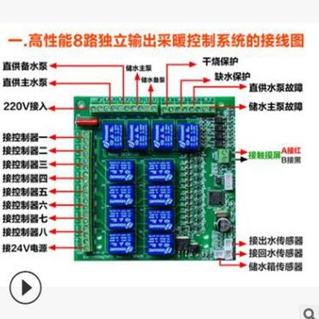 西藏电磁采暖炉控制系统 核能暖通节能设备 厂家直供优良材质质量可靠