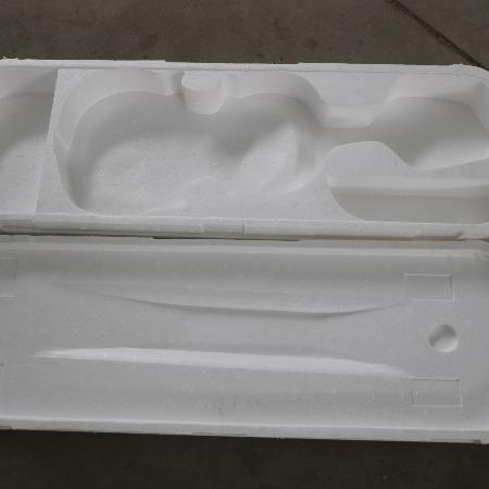 厂家直销  白色EPE葫芦丝异型泡沫盒   琵琶异型泡沫盒子