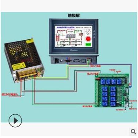 电磁采暖炉控制系统 西藏核能暖通 远程wifi控制器使用更方便