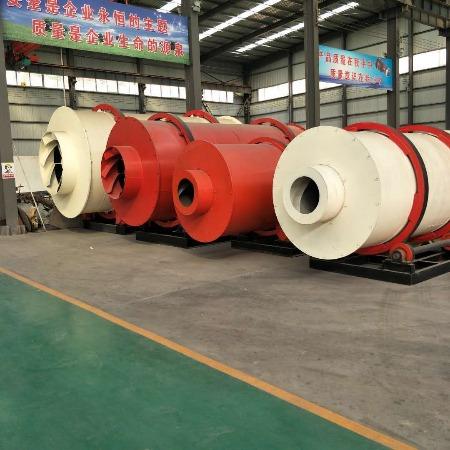 大型转筒式烘干机 建筑沙子石英砂烘干机 滚筒刮板干燥设备