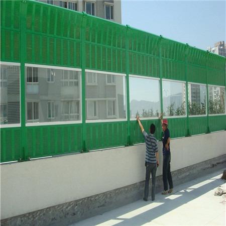 河北小区声屏障 冷却塔声屏障 空调机组声屏障定制生产