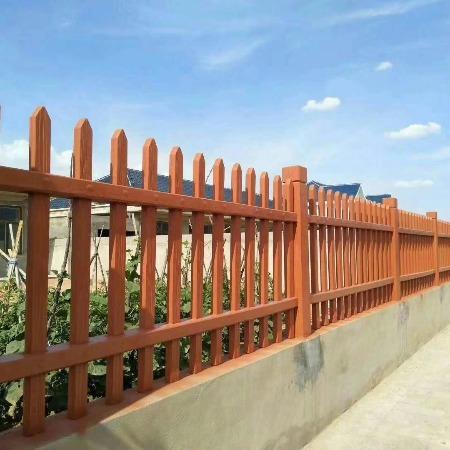 泰和茂盛建材仿木栅栏供应商 仿木栅栏厂家批发价格