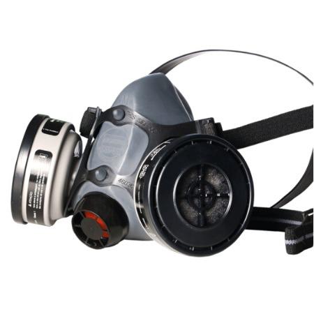 霍尼韦尔550050M防毒面具直销  升级款舒适型橡胶半面罩