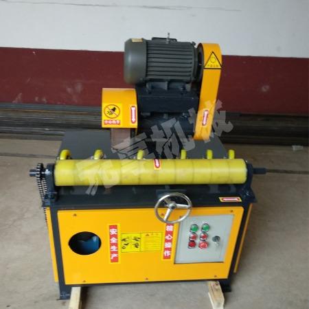 立式直管抛光机 钢木家具圆管除锈机 车辆配件外圆打磨机