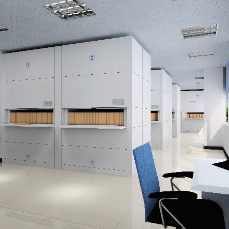 办公回转柜智能仓储设备生产厂家实力雄厚资质齐全-虎恒智能