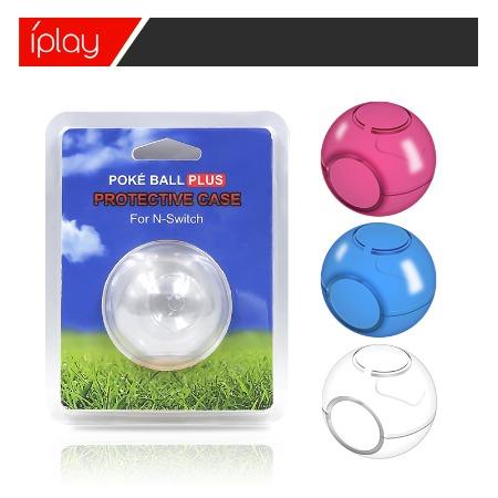 switch精灵球透明保护壳 switch精灵球保护收纳包单个装