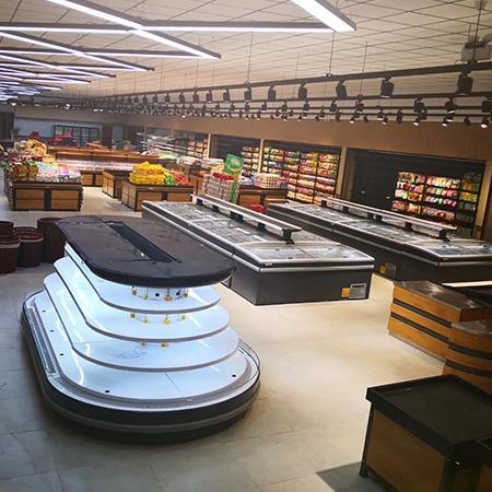 水果风幕柜,蔬菜保鲜风幕柜,超市保鲜风幕柜价格,水果风幕柜厂家