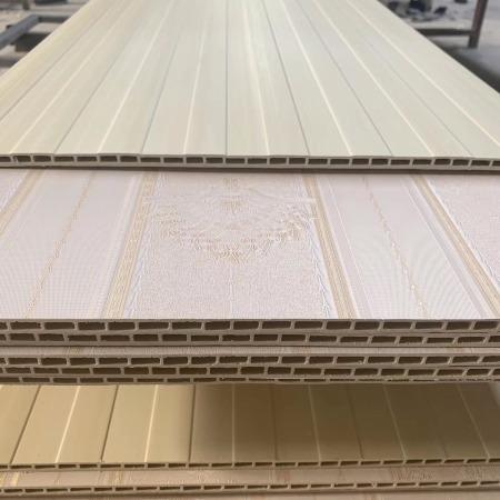 集成墙板竹木纤维护墙板背景画1