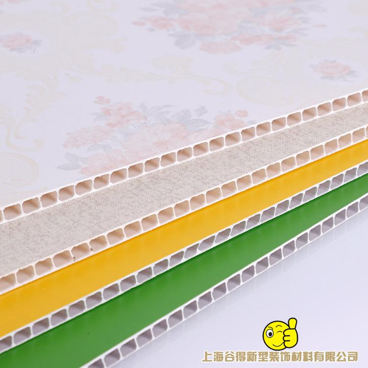 石塑墙板生产厂家 石塑护墙板可按照客户要求定制 量大优惠_谷得墙板