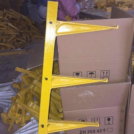 玻璃钢电缆沟支架 电缆固定支架 多层电缆支架 直埋式电缆支架 电缆线槽支架