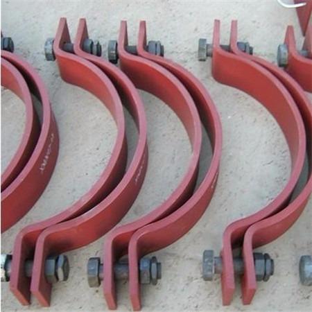 厂家直销 A6重型双螺栓管夹 A8三螺栓管夹 质量保障