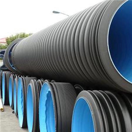 400HDPE双壁波纹管高密度聚乙烯HDPE双壁波纹管厂家HDPE双壁波纹管厂家