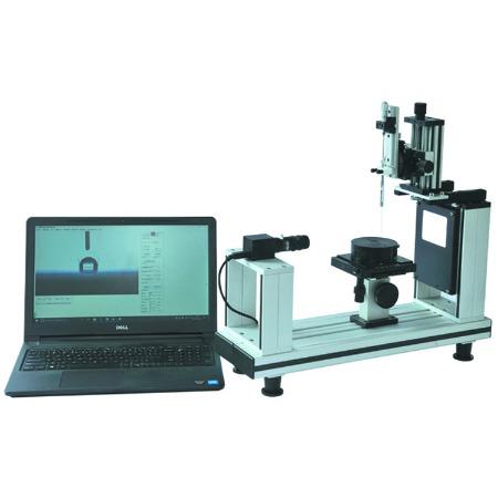 水滴角测试仪 - 标准角度自动校准- 多种测量方法- 测值准确