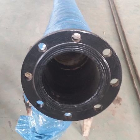 二线窑头喷煤管带活动法兰