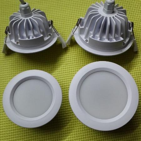 拓普绿色科技LED防水筒灯外壳,3寸LED筒灯外壳开孔尺寸95mm