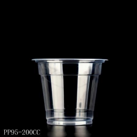 四川广元遂宁PP注塑磨砂奶茶杯定做,一次性塑料高透冷饮奶茶杯定做厂家