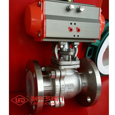 利尔多阀门_专业电动衬氟球阀Q941F46衬氟球阀电动球阀价格从优高质量