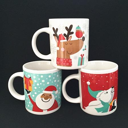 可爱陶瓷杯 卡通环保马克杯 供应加印logo可爱陶瓷杯 定制批发