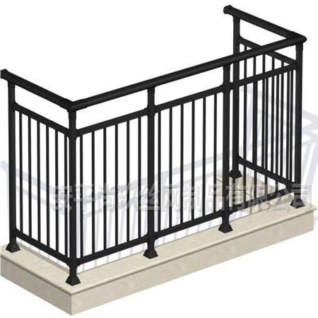 尚玖定做钢阳台护栏 锌阳台护栏 组装式阳台护栏 护栏扶手阳台厂家