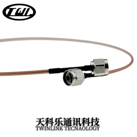 N公头-N公头 接RG142 电缆组件