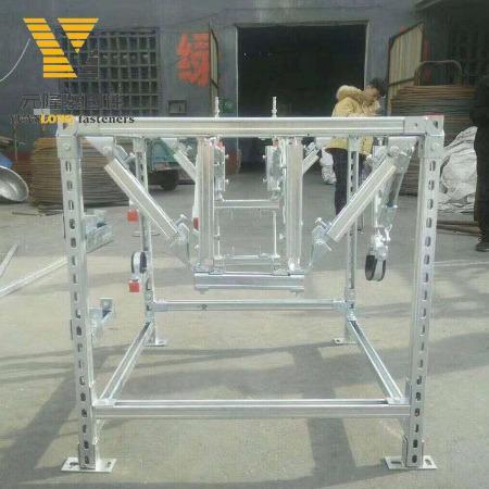 现货管束 c型钢支吊架配件 管廊支架管夹 抗震支架配件供应