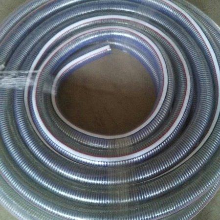 金泽管业供应 PVC透明钢丝管
