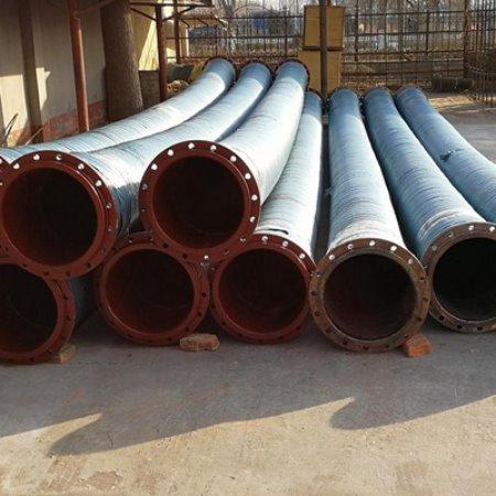 厂家生产  钢丝缠绕喷砂管  钢丝编织喷砂夹布胶管    耐高压胶管