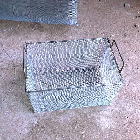 久驰丝网制品厂生产不锈钢网筐不锈钢消毒筐过滤筒沥水篮经济适用