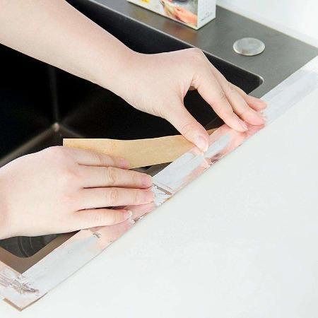 厂家直销 超轻防水胶带 彩钢瓦玻璃房水管补漏 防水胶布 丁基胶带铝箔胶带